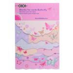 Заготовка для открыток ZiBi Butterfly 10.2 х 15.3см (ZB.18215-AF)