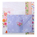 Заготовка для открыток ZiBi с цветными конвертами Charm 10.5 х 14.8см (ZB.18223-AD)