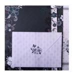 Заготовка для открыток ZiBi с цветными конвертами Fancy 10.5 х 14.8см (ZB.18224-AD)