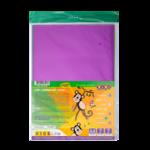 Бумага цветная самоклеящаяся ZiBi Металлик, А4, 7 листов, 7 цветов (ZB.1948)