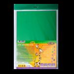 Картон цветной двухсторонний двухцветный ZiBi, А4, 10 листов, 20 цветов (ZB.1952)
