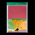 Картон цветной фольгированный ZiBi, А4, 8 листов, 8 цветов (ZB.1960)