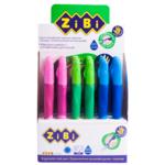 Ручка шариковая ZiBi для правши с резиновым грипом, синий, KIDS Line (ZB.2000-01)