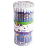 Карандаш графитовый ZiBi Kids Line Exotic с ластиком (ZB.2313)