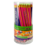 Карандаш графитовый ZiBi Rainbow HB с ластиком (ZB.2320)