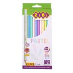 Карандаши цветные пастельные ZiBi Kids Line Pastel 12 шт. (ZB.2470)