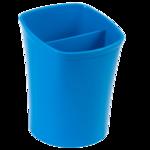 Стакан для письменных принадлежностей ZiBi Kavdrik, 2 отделения, синий (ZB.3001-02)