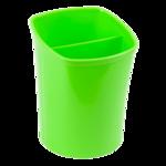 Стакан для письменных принадлежностей ZiBi Kavdrik, 2 отделения, салатовый (ZB.3001-15)