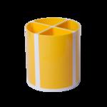 Подставка для пишущих принадлежностей ZiBi Kids Line Твистер, желтая, 4 отделения (ZB.3003-08)