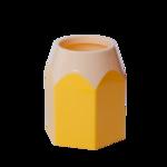 Подставка для ручек ZiBi Kids Line Карандаш, пластик, желтая (ZB.3004-08)