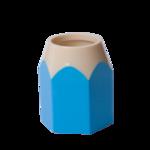 Подставка для ручек ZiBi Kids Line Карандаш, пластик, голубая (ZB.3004-14)