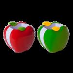 Подставка для письменных принадлежностей ZiBi Kids Line Яблочко, красная (ZB.3005-05)