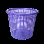 Корзина для бумаг ZiBi, 8 л, пластик, фиолетовый (ZB.3040-07)
