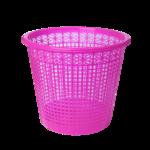 Корзина для бумаг ZiBi, 8 л, пластик, розовый (ZB.3040-10)