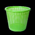 Корзина для бумаг ZiBi, 8 л, пластик, салатовый (ZB.3040-15)