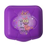 Контейнер для еды ZiBi, 125*115*75мм, фиолетовый, KIDS Line (ZB.3051-07)