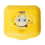 Контейнер для еды ZiBi, 125*115*75мм, желтый, KIDS Line (ZB.3051-08)