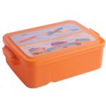 Контейнер для еды ZiBi,190х130х55мм, оранжевый, KIDS Line (ZB.3055-11)