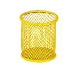 Подставка для ручек металлическая ZiBi, круглая, желтый (ZB.3100-08)