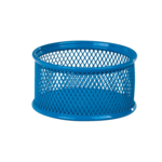 Подставка для скрепок ZiBi, металлическая, сетка, синий (ZB.3111-02)
