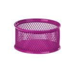Подставка для скрепок ZiBi, металлическая, сетка, розовый (ZB.3111-10)