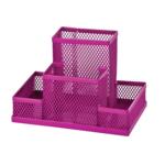 Прибор настольный металлический ZiBi, розовый (ZB.3116-10)