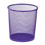 Корзина для бумаг ZiBi 12 л металлическая 26,5x26,5x28 см круглая Kids Line Фиолетовая (ZB.3126-07)