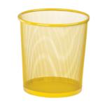 Корзина для бумаг ZiBi 12 л металлическая 26,5x26,5x28 см круглая Kids Line Желтая (ZB.3126-08)