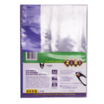 Обложки для тетрадей ZiBi, А4, PVC, прозрачные с цветными полями, 5 шт (ZB.4710-99)