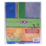 Обложки для книг ZiBi 250х420 мм, с клапаном, PVC, ассорти, 5 шт (ZB.4722-99)