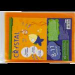Обложки для книг ZiBi Crystal, 8-11 класс, комплект 10шт (ZB.4729)