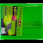Обложка для тетради ZiBi Neon, А5 с клапаном, PVC, салатовый (ZB.4760-15)