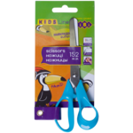Ножницы детские ZiBi, 152 мм, пластиковые ручки, синий (ZB.5014-02)