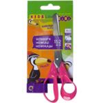 Ножницы детские ZiBi, 152 мм, пластиковые ручки, розовый (ZB.5014-10)