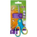 Ножницы детские ZiBi 152 мм с гибким резиновым кольцом и резиновыми вставками Cиние Kids Line (ZB.5015-02)