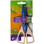 Ножницы детские ZiBi, зиг-заг, 165 мм, синий (ZB.5020-02)
