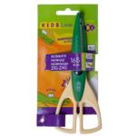 Ножницы детские ZiBi, зиг-заг, 165 мм, зеленый (ZB.5020-04)
