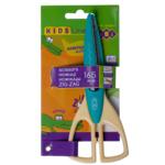Ножницы детские ZiBi, зиг-заг, 165 мм, бирюзовый (ZB.5020-06)