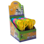 Ножницы детские ZiBi Kids Line 128 мм с 3-D ручками Ассотри (ZB.5021)