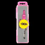 Циркуль с грифелем в футляре ZiBi Basis ZB.5302BS-10, розовый