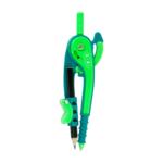 Циркуль пластиковый ZiBi, со шкалой, в блистере, зелено-салатовый (ZB.5396-04)