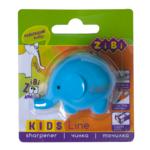 Точилка ZiBi Kids Line Слоник с контейнером, 1 отв.. блистер, голубой (ZB.5586-5)