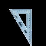Угольник ZiBi, 140мм, 90/60 градусов, тонированный, ассорти (ZB.5621-99)