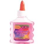 Клей ZiBi цветной прозрачный для слаймов 88 мл Розовый (ZB.6111-10)