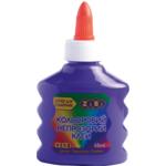 Клей ZiBi цветной непрозрачный для слаймой 88 мл Фиолетовый (ZB.6113-07)