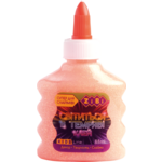 Клей ZiBi Светлячок цветной люминесцентный 88 мл Оранжевый (ZB.6115-11)