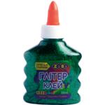 Клей ZiBi Глиттер цветной прозрачный 88 мл Зеленый (ZB.6116-04)