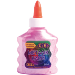 Клей ZiBi Металлик цветной 88 мл Розовый (ZB.6117-10)