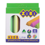 Пластилин ZiBi 5 цветов неон, 80 г, KIDS Line (ZB.6229)