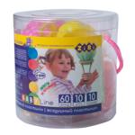 Воздушный пластилин Zibi Baby Line 10 шт. по 6г, 10 цв., + 3 форм., 1 стек, в тубусе (ZB.6254)